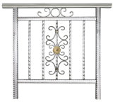 Cerca de acero horizontal del acero del metal del diseño de la cerca