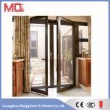 Porta de alumínio exterior com indicador de abertura