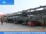 4-6 sistema deslizante nivelado do estacionamento