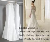 Sacchetto trasparente di memoria del vestito dal PVC della chiusura lampo più di formato 1.8m