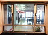 China fabricante precio de fábrica doble ventana de aluminio de cristal templado