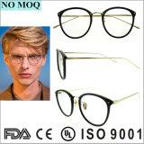 Neue Ankunft Eyewear spätester Glas-Rahmen mit Metallbügeln