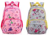 熱い販売の二重肩の漫画の印刷の学校のバックパック袋