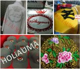 Качества машины 6 вышивки Holiauma Китая вышивка верхнего головного высокоскоростного смешанная для вышивки Ho1506 одежды плоской крышки