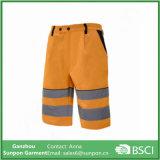 Sicherheits-Arbeits-Kurzschlüsse/Hosen mit reflektierendem Band