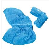 Cubierta impermeable del zapato del CPE para no reutilizable con resbalón anti