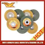 熱い販売の石(4インチ)のための磨く車輪磨くディスク