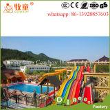 Wasser-Park-Gerätehersteller-Fiberglas-Wasser-Plättchen in Guangzhou