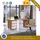 Стол компьютера штата таблицы офиса цены по прейскуранту завода-изготовителя деревянный (HX-CRV008)