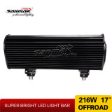 "Spotlight do carro 17 ""216W High Output LED Offroad Light Bar"