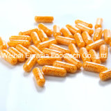 Las cápsulas con las pelotillas de la vitamina B de sostienen el desbloquear