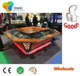 硬貨は販売Ywのための電子アメリカのカジノのルーレットのゲーム・マシンを作動させた