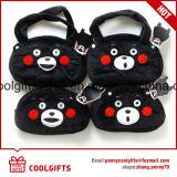 Cartoon Bear Stuffed Plush Toy Handbag, bolsa de moedas, Change Purse