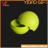 Het groene Embleem van Customed van het Ei van het Silicone van Kleuren (yb-hd-178)
