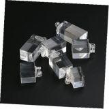 투명한 정연한 아크릴 반지 보석 전시