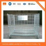Galvanized  Storage  Cage  con le rotelle