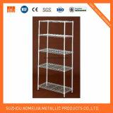 Shelving comercial ajustável do metal