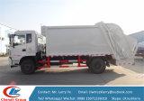 10m3ガーベージのコンパクターのトラック