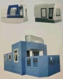 Gabinete do computador dos gabinetes da rede