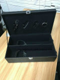 棒種類のWood Case優雅によってセットされるワインラック1-6びんのワインボックス