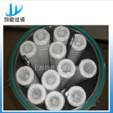 Filtro de enrolamento de fio com elemento de filtro