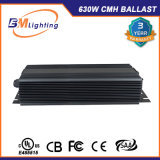 2 * 315W Sortie double basse fréquence 630W CMH HPS Mh Grow Lighting Ballast électronique avec approbation UL
