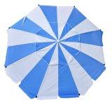 7 Paraplu Upf 100+ van het Strand van de Glasvezel van de Premie van voet de Op zwaar werk berekende