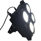 Rasha 영화 스튜디오 텔레비젼을%s 최신 판매 4 헤드 4*100W 2in1 옥수수 속 Warmwhite Coolwhite LED 곁눈 가리개 빛 경청자 빛