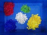 Compaginador de reciclaje plástico del color del PE de la venta caliente