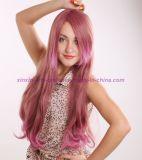 당과 Cosplay를 위한 다채로운 방열 합성 머리 가발