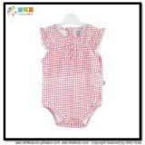 Gots Baby kleidet Sleeveless Säuglingsmädchen-Bodysuits