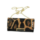 Frizione della catena del raccoglitore delle donne del sacchetto di spalla della signora Leopard di modo