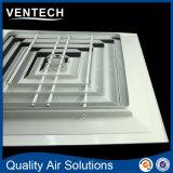 Gril de diffusion et de ventilation d'air, diffuseur de grand dos d'air d'approvisionnement (SCD-VA)