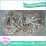 Aparência Luz poliéster Weaving Knitting Cotton Fios fantasia - 6