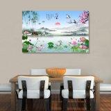 La peinture d'horizontal chinoise estampée par jet d'encre pour la décoration à la maison