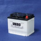 고품질 자동 건전지 건조한 비용이 부과된 자동차 배터리 DIN 45 12V45ah