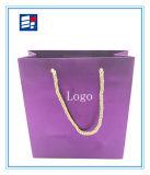 Изготовленный на заказ бумажная хозяйственная сумка для упаковывая электроники/одежды/ботинок /Wine