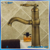Taraud de mélangeur en laiton de robinet de bassin d'antiquité en gros de salle de bains