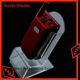 Carrinho de indicador acrílico do telefone da cremalheira de indicador de Acryilc