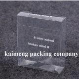 Коробка подарка PVC пластмассы хорошего качества складная ясная с печатание логоса (коробка подарка PVC)
