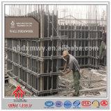 Encofrado directo de la pared de la fábrica que pela para el bastidor concreto
