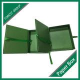 Grüne Farben-Pappmagnetischer Papierkasten mit Farbband