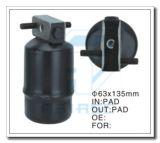 Secador de aço personalizado do filtro para o auto condicionamento de ar 63*135