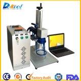 impresora portable de la marca del laser del CNC de la etiqueta de plástico del laser de la fibra 30W