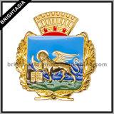 Insigne de garantie d'argent en métal de qualité pour le cadeau (BYH-10034)