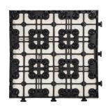 Decorazione del travertino del materiale da costruzione che pavimenta le mattonelle unite della pietra delle mattonelle