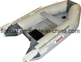 Barca gonfiabile leggera con il pavimento di alluminio