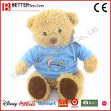 선전용 선물 아이를 위한 Hoodie에 있는 연약한 견면 벨벳 박제 동물 장난감 곰 장난감