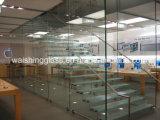Igcc/ISO9001/CCC를 가진 명확하거나 다채로운 Tempered 박판으로 만들어진 유리 층계