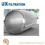 Cartucho de filtro de agua del acero inoxidable de la alta calidad 316L
